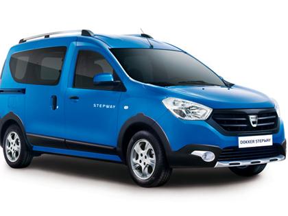 Mondial de Paris 2014 - Dacia Dokker Stepway: 1res photos et une vidéo...