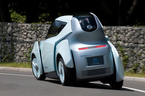 Tokyo 2009 : Concept Nissan Land Glider, le planeur de la route