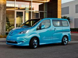 Salon de Detroit 2012 : le Nissan e-NV200 séduit plus par sa technologie que son style
