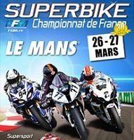 Championnat de France SBK : 1ère épreuve dimanche prochain au Mans