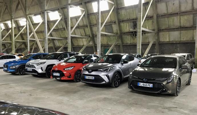 Les 5 hybrides non rechargeables les plus vendus en 2020 : Hyundai Kona, Toyota C-HR, Corolla, Yaris et RAV4 - Salon de l'auto Caradisiac