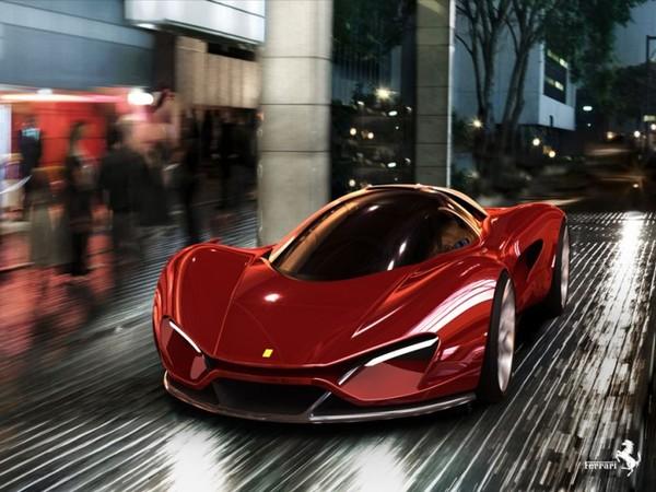 Le concept Ferrari Xezri : un essai de style à voir