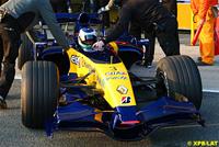 La nouvelle R27 roule à Jerez