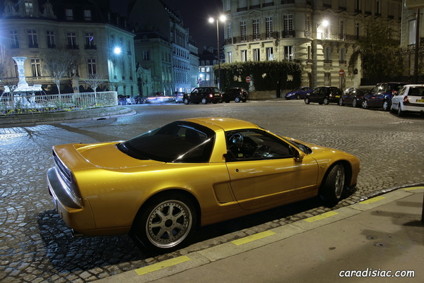 Photos du jour : Honda NSX