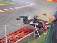 Vidéo : Gros crash à Spa en Radical