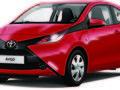 Toyota lance la série limitéeAygo x-red