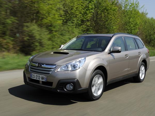 Subaru Outback: toilette de printemps