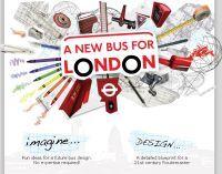 Le maire de Londres lance un concours: concevez un nouveau bus à double étage écolo !