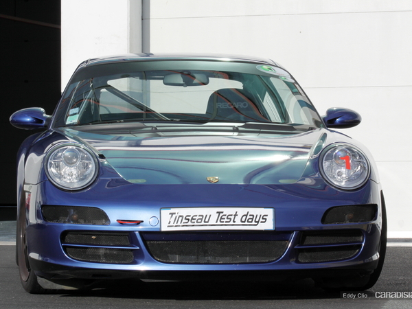 Photos du jour : Porsche 911 997 (Tinseau test Day)