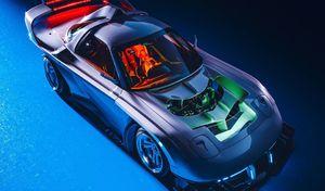 La Mazda RX-7 imaginée en version Long Tail