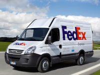 FedEx Express teste 10 Iveco Daily hybrides