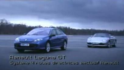 Vidéo : la Laguna 3 GT plus rapide qu'un Porsche Boxster !!