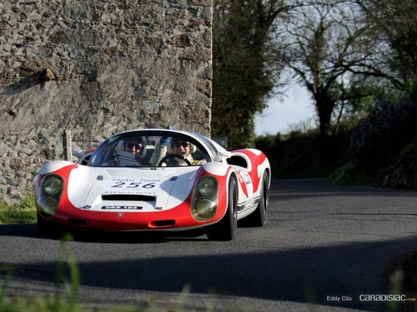 Photos du jour : Porsche 906 & 910 (Tour Auto)
