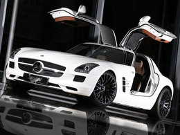 Mercedes SLS AMG Inden Design. 614 chevaux annoncés.