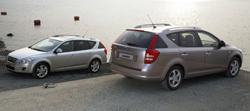 Kia Cee'd Sport Wagon: Plus d'informations