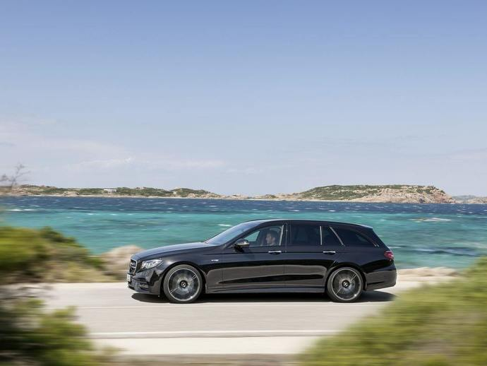 Mercedes Classe E break All Terrain : rendez-vous au Mondial de Paris