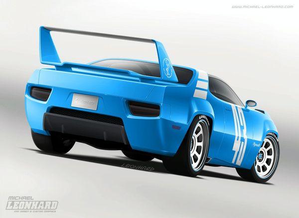 Plymouth Road Runner Superbird Concept : Nascaractère