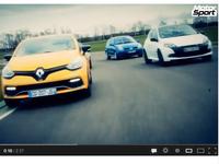 Track Battle Motorsport : Clio Williams, RS 2, RS3 et RS4  s'affrontent