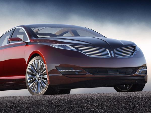Salon De D 233 Troit 2012 Lincoln Mkz Concept Un Style Peu