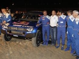 Volkswagen vise le hat-trick au Dakar