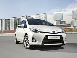 Salon de Genève 2012 : Toyota Yaris hybride, la première citadine du genre