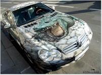 La Photo/saucisse du vendredi.. : Mercedes Crocodile Dundee