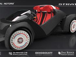 Un buggy entièrement conçu avec une imprimante 3D