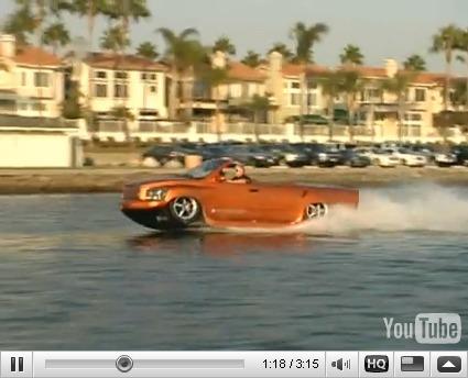Réveil Auto : Watercar Python, 0 à 100 en 4,5s sur terre et jusqu'à 100 km/h sur mer !