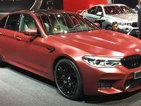 BMW M5 : les premières images en live du Salon de Francfort 2017