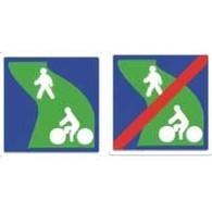 Un nouveau panneau pour les circulations douces