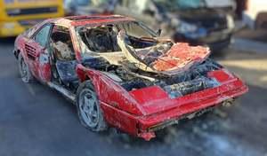 Une Ferrari volée il y a 26 ans retrouvée au fond d'une rivière