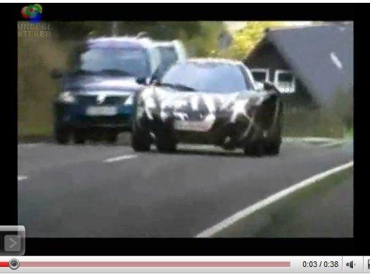[vidéo] la McLaren MP4-12C déploie son aéro frein sur le Nürburgring