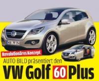 Volkswagen Golf 60 Plus Concept : un avant-goût de la future Golf VI ?