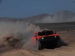 Dakar 2012 - Etape 9 : Gordon se rapproche encore de Peterhansel