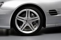 Mercedes Classe SL Pack Sport : la flèche d'argent