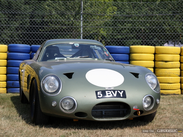 Photos du jour : Aston Martin Project 214 Recreation (Le Mans Classic)