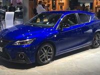 Lexus CT200h: sortez la loupe - En direct du salon de Francfort