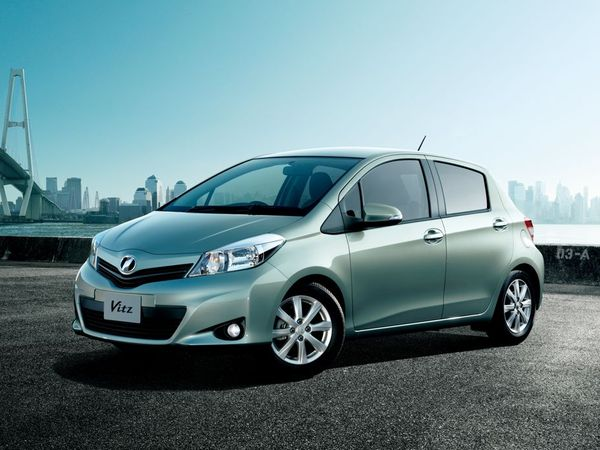 Officiel - Nouvelle Toyota Yaris, pour l'instant elle s'appelle Vitz