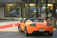 La Tesla Roadster électrique déploie ses ailes