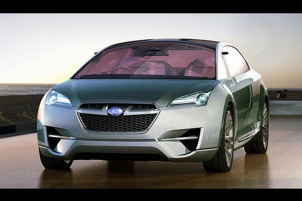 Tokyo 2009 : Subaru Hybrid Tourer Concept en clair