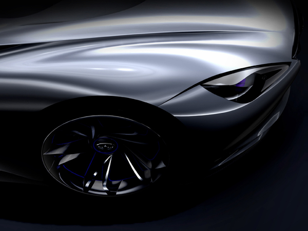 Genève 2012 : second teaser pour le concept de sportive hybride Infiniti
