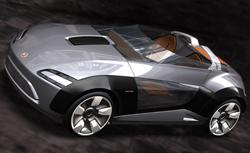 Bertone Roadster Concept par l'oeil de Lynx