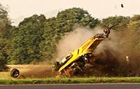 L'accident de Richard Hammond en images !