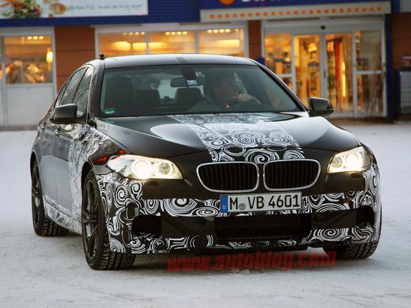La future BMW M5 continue de se dévoiler