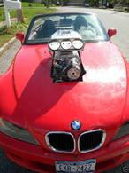 BMW Z3 V8, Alice ça glisse... (au pays des merveilles)
