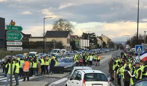 Gilets jaunes : de lourdes amendes pour l'occupation des ronds-points ?