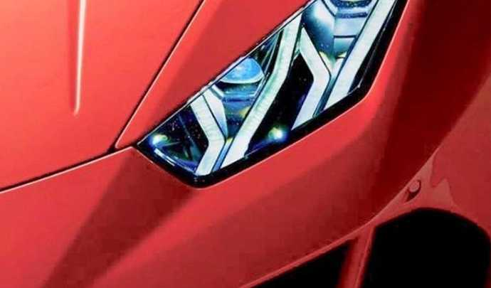 Lamborghini Huracan restylée : premier teaser