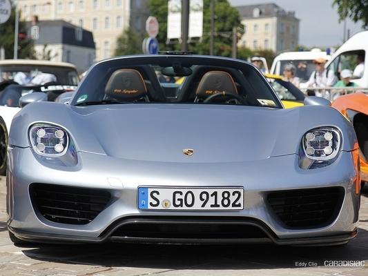 Porsche rappelle cinq exemplaires de la 918 Spyder