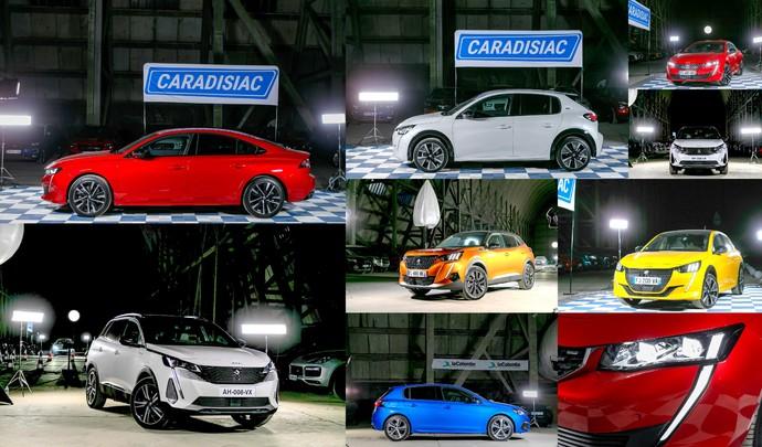 Salon de l'auto Caradisiac - Le stand Peugeot: électrisant