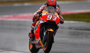 MotoGP - San Marin J.3: Márquez se joue de la pluie et des Ducati